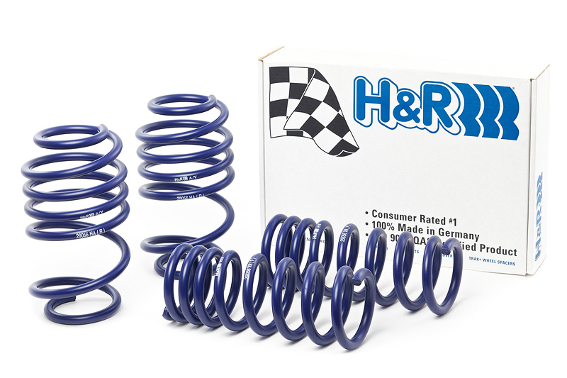 H/&R 29204-1 Sport Lowering Coil Spring For 01-12 Jeep Liberty Kj