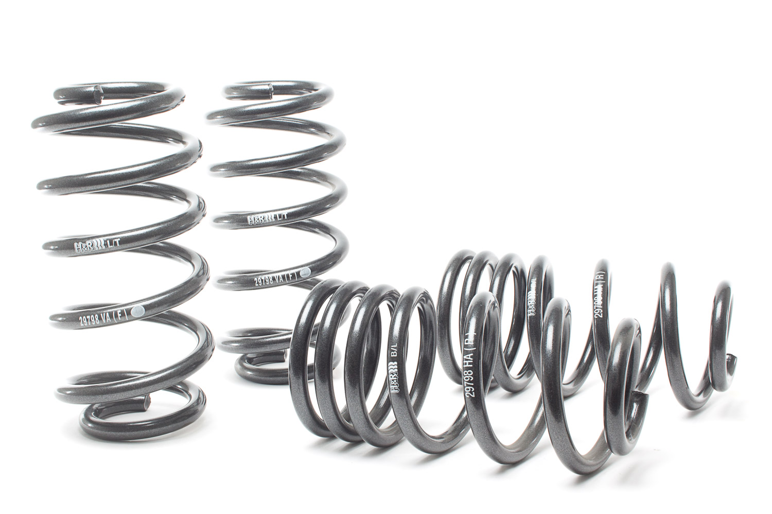 H&R  29996-2 Performance Spring Set Low-Fitting Springs Car Parts