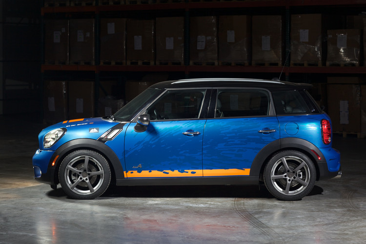 H Amp R Springs 2011 Mini Countryman All4 Projects H Amp R