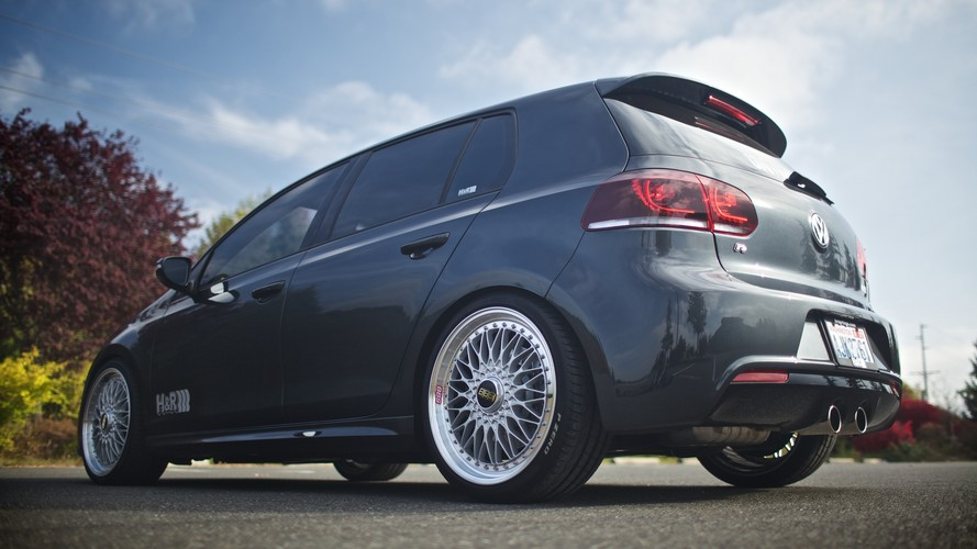 H Amp R 2013 Volkswagen Golf R Projects H Amp R Special