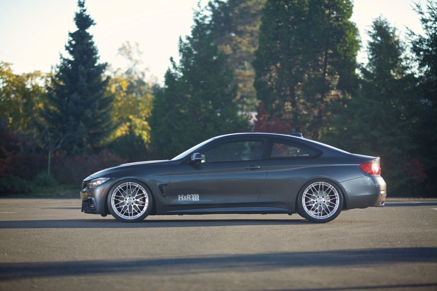 H Amp R 2014 Bmw 428i M Sport Coupe H Amp R Special Springs Lp