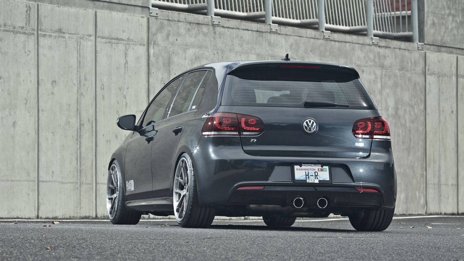 Vw Tdi Performance >> H&R 2013 Volkswagen Golf R | H&R Special Springs, LP.
