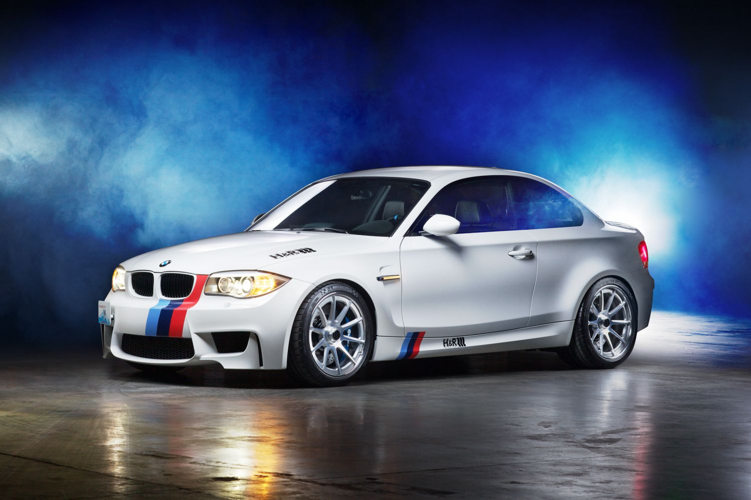 h r springs bmw 1m coupe updated h r special springs lp. Black Bedroom Furniture Sets. Home Design Ideas