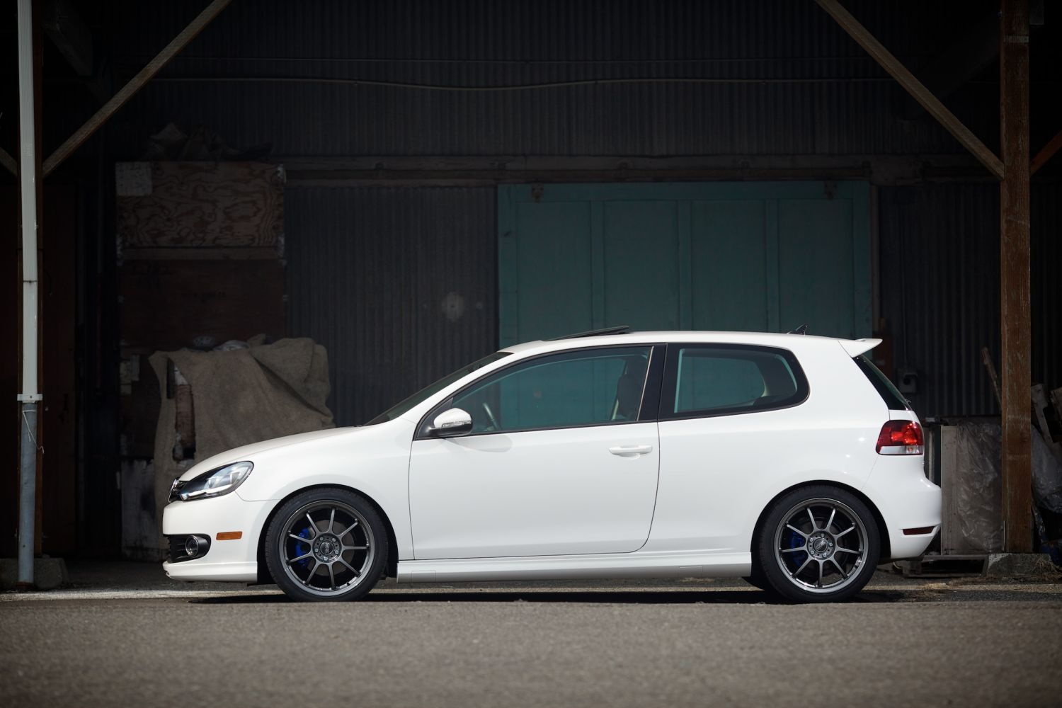 How To Buy Tires >> H&R Project Golf 6 TDI | H&R Special Springs, LP.