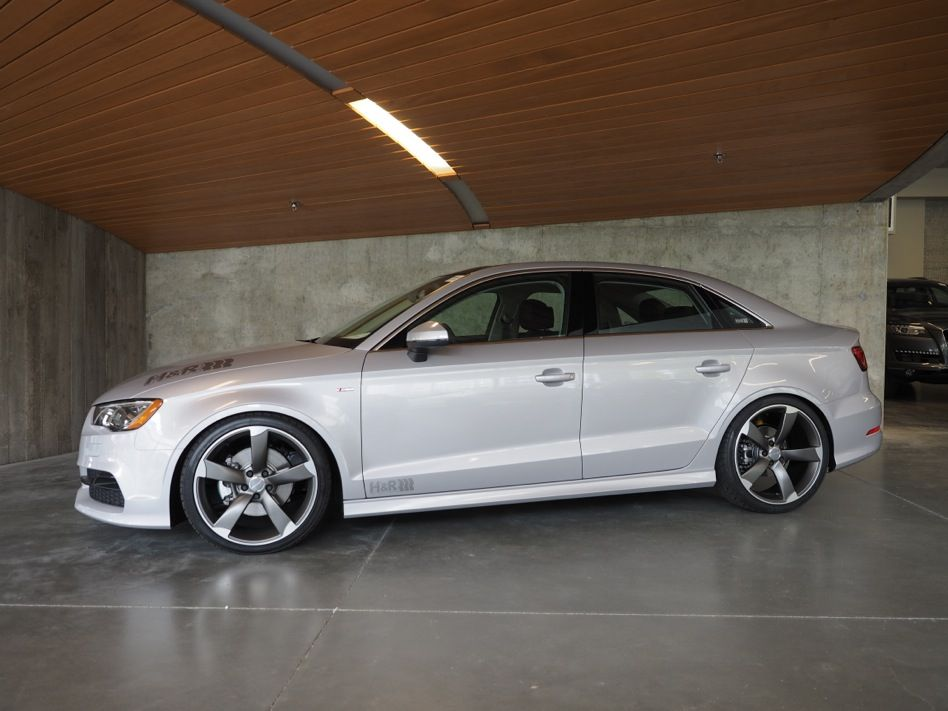 Audi A3 Sedan >> H&R 2015 Audi A3 Sedan quattro | H&R Special Springs, LP.