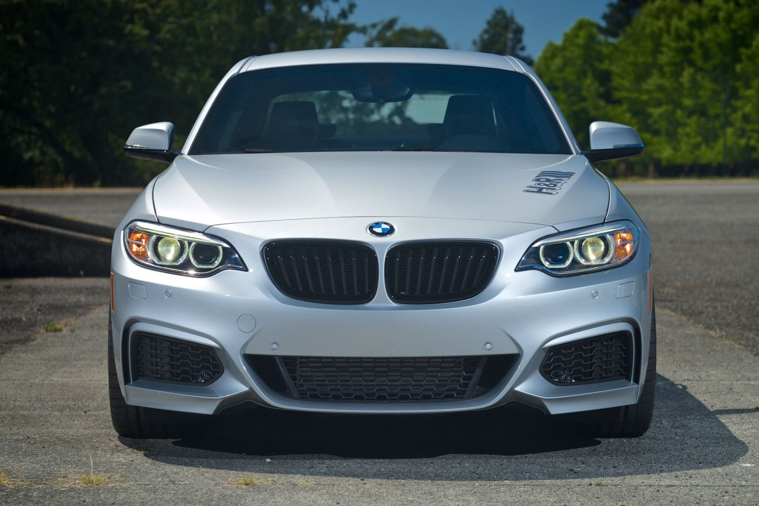 H Amp R 2014 Bmw 228i M Sport Coupe H Amp R Special Springs Lp