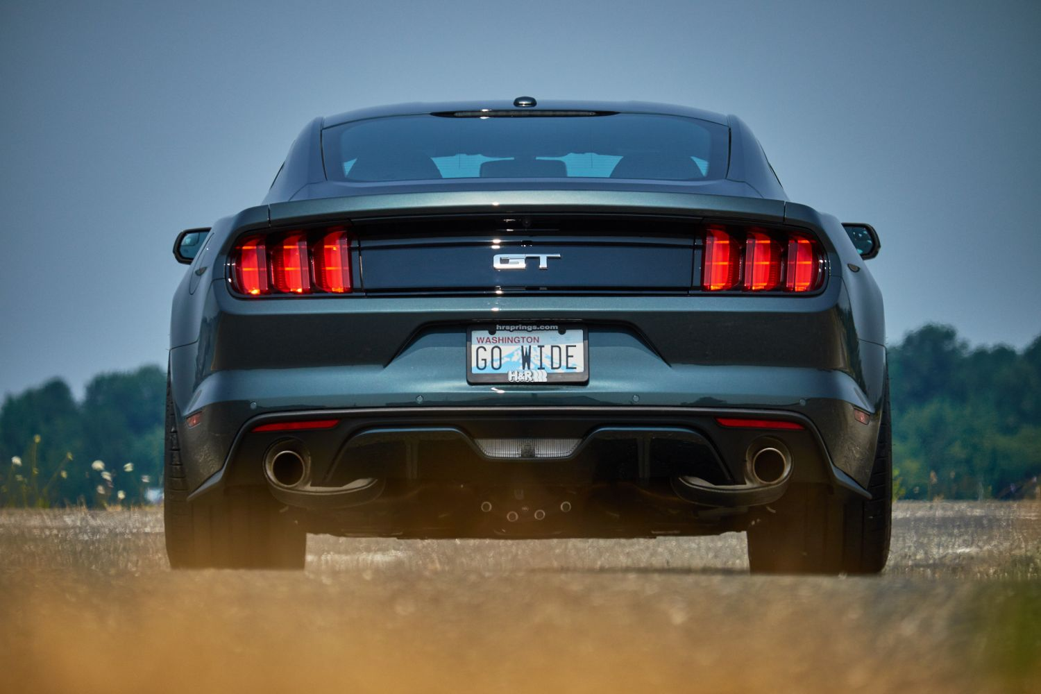All Types gt 2015 mustang : H&R 2015 Mustang GT Premium Fastback | H&R Special Springs, LP.
