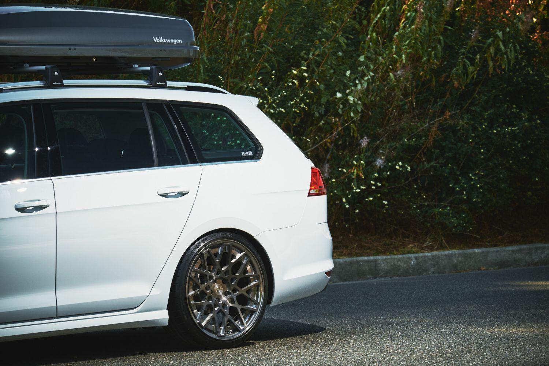 Volkswagen Golf Sportwagen >> H&R 2015 Golf SportWagen | H&R Special Springs, LP.