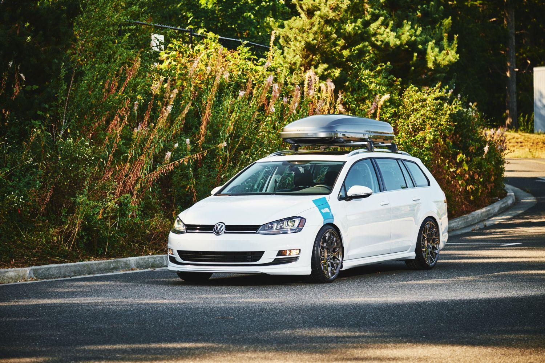Volkswagen Golf R >> H&R 2015 Golf SportWagen   H&R Special Springs, LP.