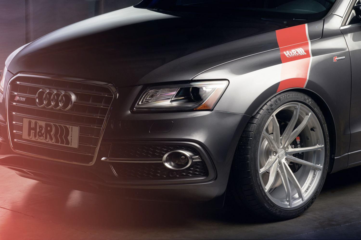 What Is A Crossover Suv >> H&R 2016 Audi SQ5 | H&R Special Springs, LP.