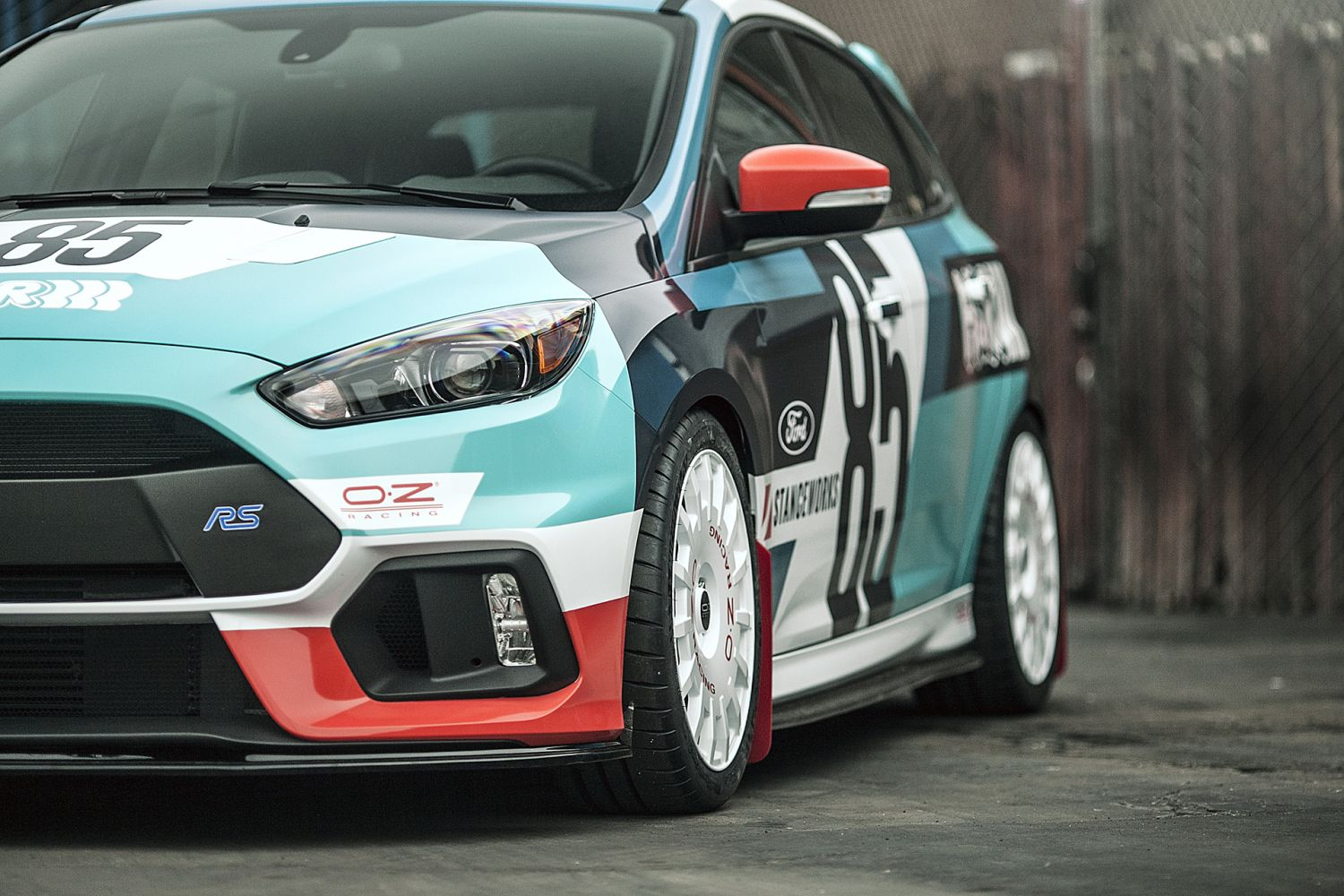 Michelin Pilot Sport >> 2016 Ford Focus RS | H&R Special Springs, LP.