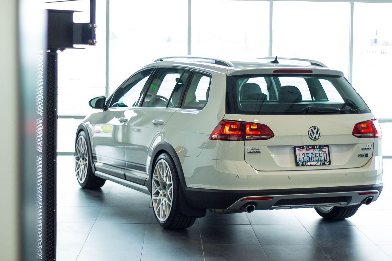 2017 Volkswagen Golf Alltrack H Amp R Special Springs Lp